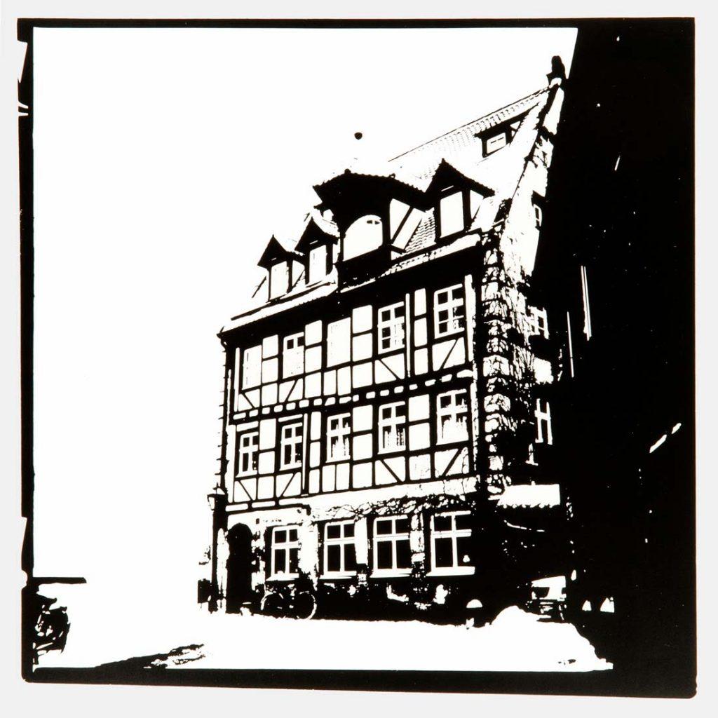 Michael Streissl, Fotograf, Künstler, Deutschland, Kunst, abstrakte Kunst, UV-Druck, Alu Dibond, zeitgenösische Kunst, Reduzierung auf das Wesentliche, Fotografie, Nürnberg, Altstadt, Altstadtfreunde, Kappengasse, Franken