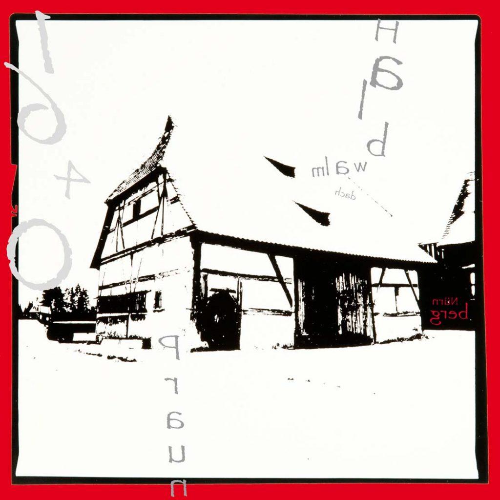 Michael Streissl, Fotograf, Künstler, Deutschland, Kunst, abstrakte Kunst, UV-Druck, Alu Dibond, zeitgenösische Kunst, Reduzierung auf das Wesentliche, Fotografie, Nürnberg, Halbwalmdach, Scheune, Denkmalliste, Nürnberg-Nord